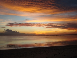 Sunset on Gili